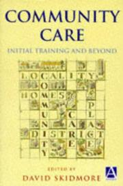 Cover of: Community Care | David Skidmore