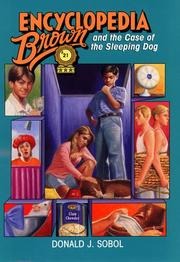 Cover of: Encyclopedia Brown and the case of the sleeping dog