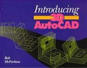 Cover of: Introducing 3D AutoCAD