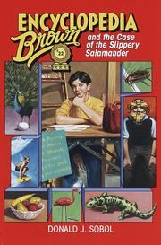 Cover of: Encyclopedia Brown and the case of the slippery salamander