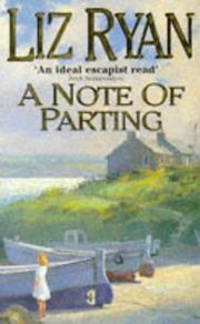 Cover of: A Note of Parting | Liz Ryan
