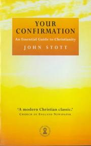 Cover of: Your Confirmation(illus) | Stott