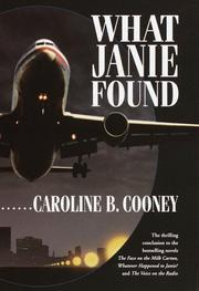 Cover of: What Janie found