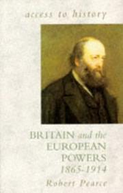 Cover of: Britain and the European powers, 1865-1914
