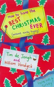 Cover of: How to Have Best Christmas Ever | Vandyck