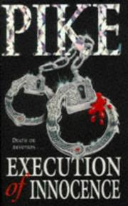 Cover of: Execution of Innocence