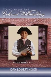 Cover of: Will's story, 1771