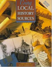 Cover of: Using local history sources