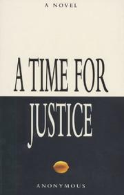 Cover of: A Time for Justice