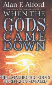 Cover of: When the Gods Came Down