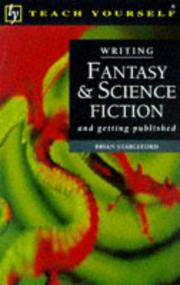 Cover of: Writing Fantasy and Science Fiction