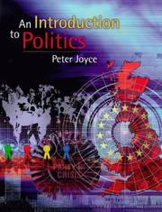 Cover of: An Introduction to Politics