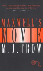 Cover of: Maxwell's Movie