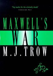 Cover of: Maxwell's War