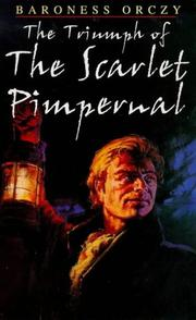 Cover of: The triumph of the Scarlet Pimpernel