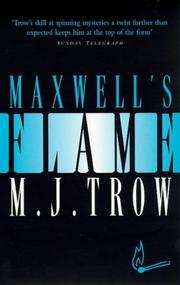 Cover of: Maxwell's Flame