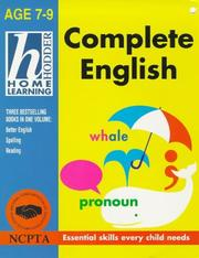 Cover of: Home Learn Complete English 7-9 | Rhona Whiteford