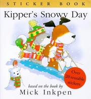 Cover of: Kipper's Snowy Day (Kipper)