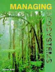 Cover of: Managing Ecosystems | Adrian Kidd