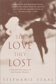 Cover of: The Love They Lost