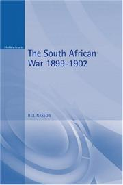 Cover of: The South African War 1899-1902 (Modern Wars) | Bill Nasson