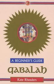 Cover of: Qabalah | Kate Rheeders