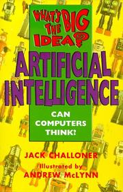 Cover of: Artificial Intelligence (What's the Big Idea?)