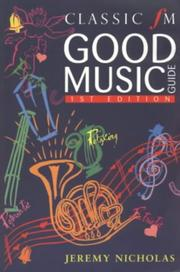 Cover of: Classic FM Good Music Guide