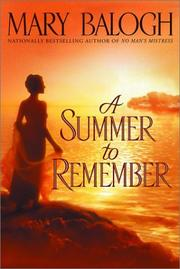 Cover of: A summer to remember