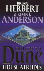 Cover of: House Atreides (Prelude to Dune)