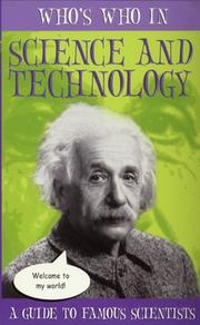Cover of: Who's Who in Science and Technology (Whos's Who)