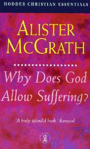 Cover of: Why Does God Allow Suffering? | Alister McGrath