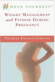 Cover of: Weight Management and Fitness During Pregnancy (Help Yourself)