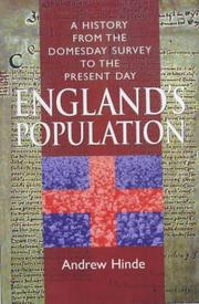 Cover of: England's Population