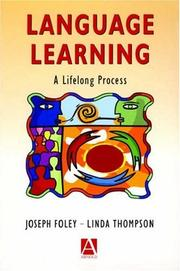 Cover of: Language learning