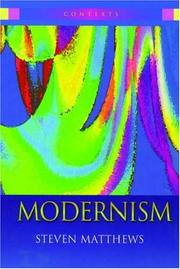 Cover of: Modernism
