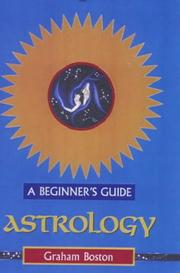 Cover of: Astrology | Graham Boston