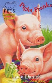 Cover of: Piglet Pranks (Animal Ark Pets #23) (Animal Ark Pets Summer Shows) | Lucy Daniels