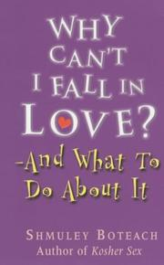 Cover of: Why Can't I Fall in Love?