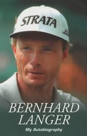 Cover of: Bernhard Langer