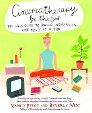 Cover of: Cinematherapy for the soul by Nancy K. Peske