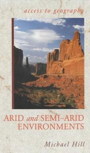 Cover of: Arid and Semi Arid Environments (Access to Geography)