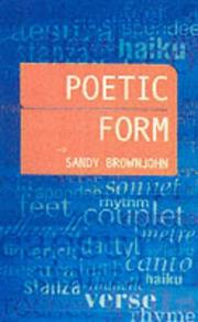 Cover of: The poet's craft