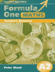 Cover of: Formula One Maths A2 (Formula One Maths) | Catherine Berry