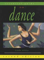 Cover of: Essential Guide to Dance (Essential Guides for Performing Arts)