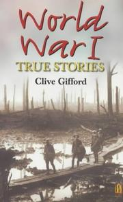 Cover of: World War I | Clive Gifford