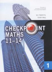 Cover of: year 7 maths textbook Checkpoint Maths Book 1 (Modular Maths for Edexcel) by Ric Pimentel, Terry Wall