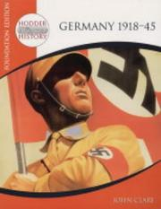 Cover of: Germany 1918-45