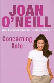 Cover of: Concerning Kate
