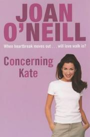 Cover of: Concerning Kate | Joan O